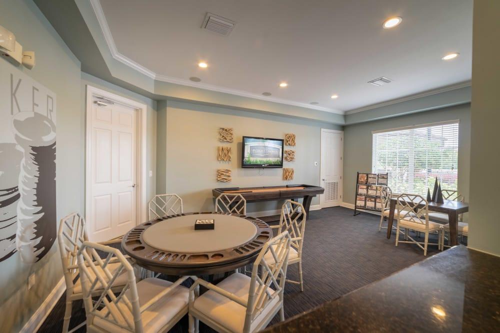 Dining room at Integra Landings in Orange City, Florida