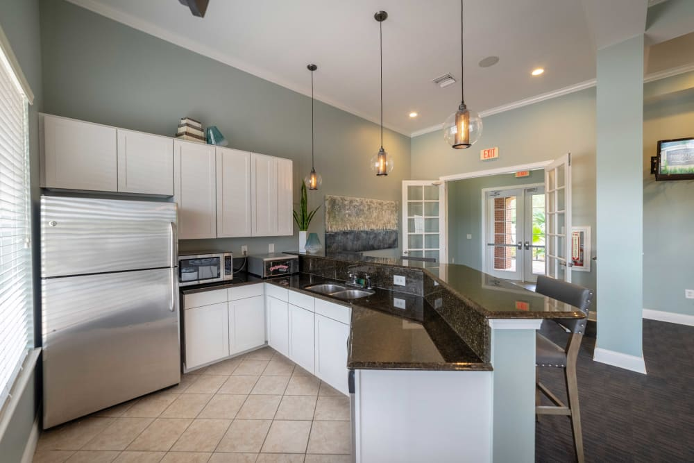 Apartments with a dining room at Integra Landings