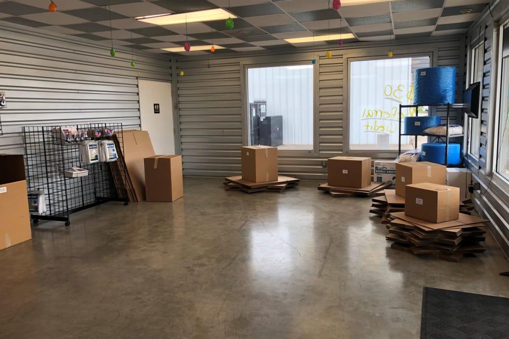Storage supplies at Store It All Self Storage - FM 529 in Houston, TX