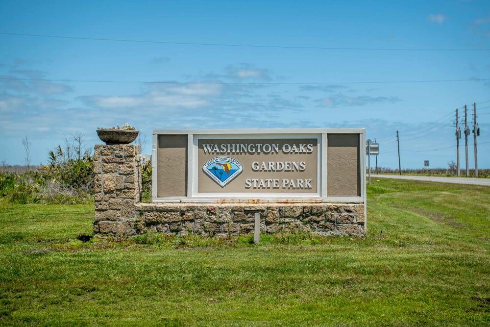 Washigton Oaks Gardens State Park near at Integra Landings in Orange City, Florida