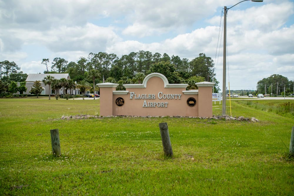 Flager County Ariport near at Integra Landings in Orange City, Florida