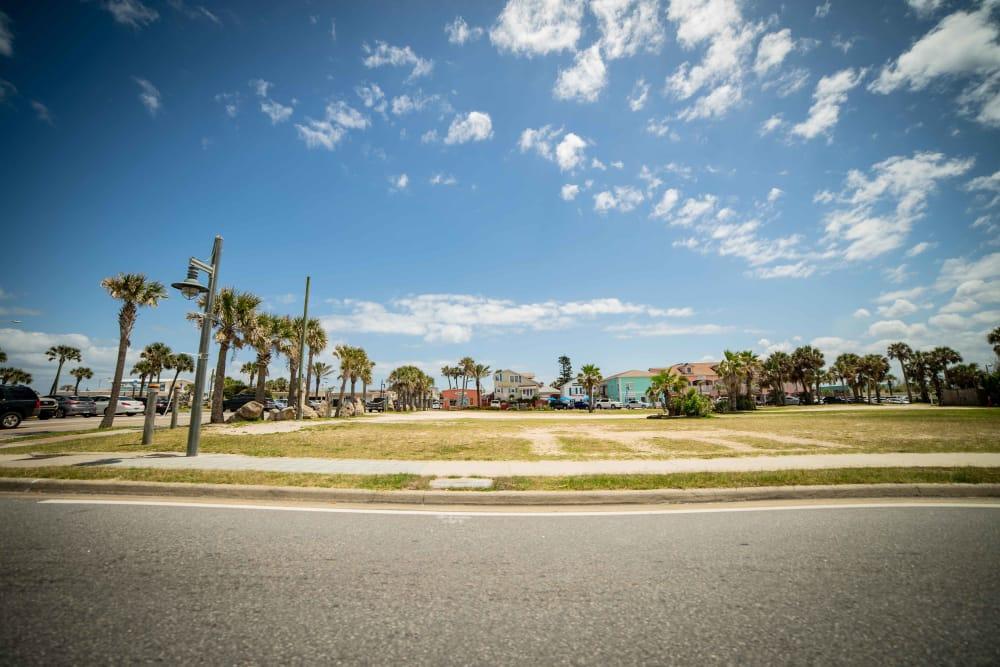 Empty yard near at Integra Woods in Palm Coast, Florida