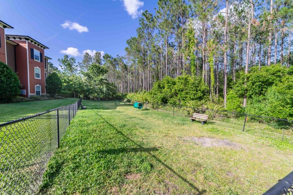 Amazing backyard at Integra Woods in Palm Coast, Florida