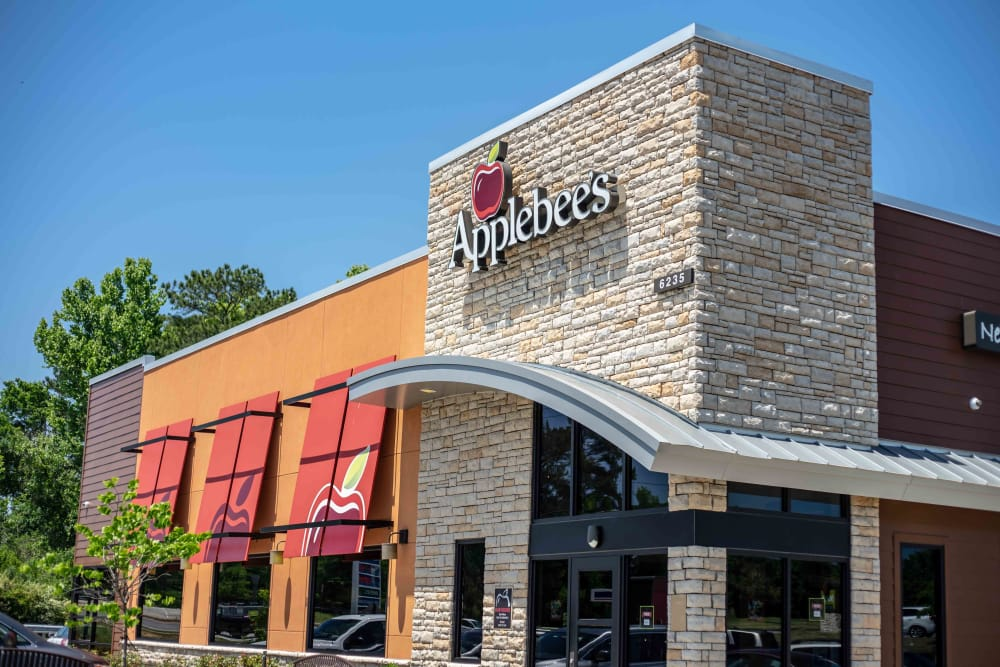 Applebee's restaurant near at Pavilion at Plantation Way in Macon, Georgia