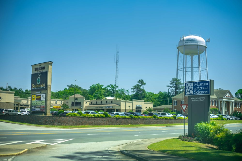 Locations near at Pavilion at Plantation Way in Macon, Georgia
