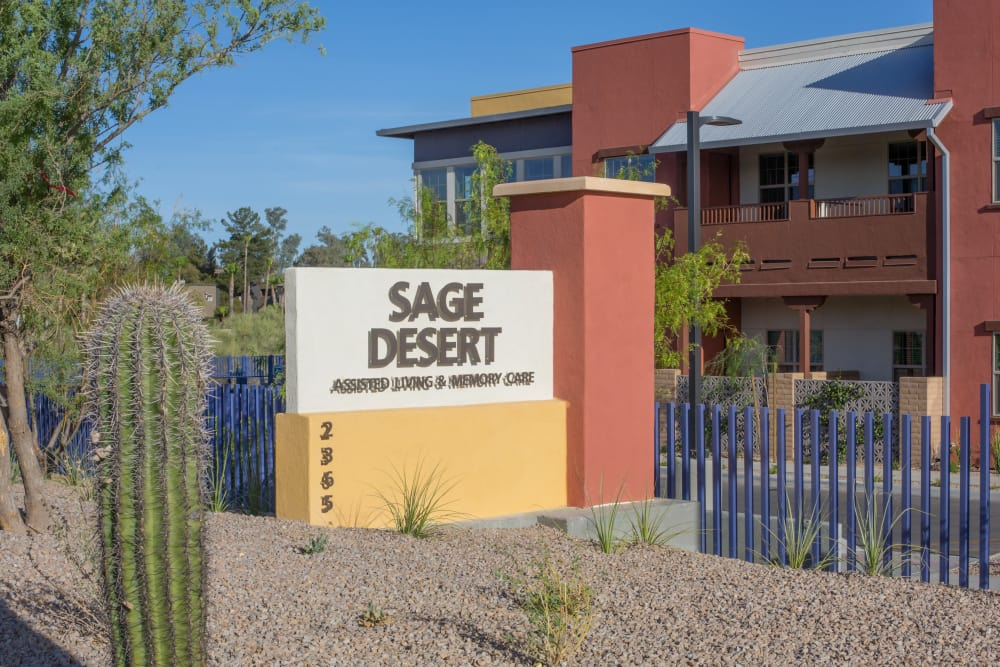 Welcome to Sage Desert