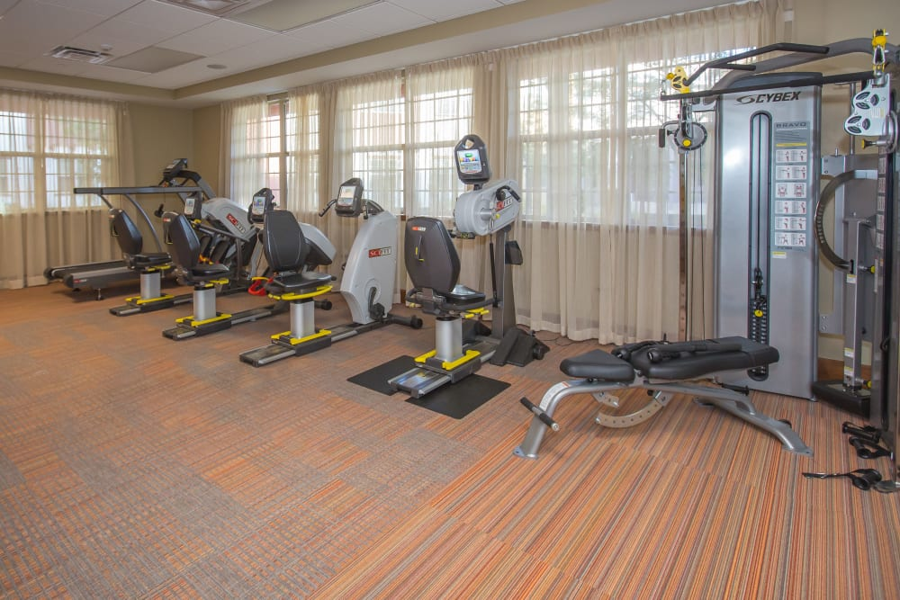 Sage Desert exercise room