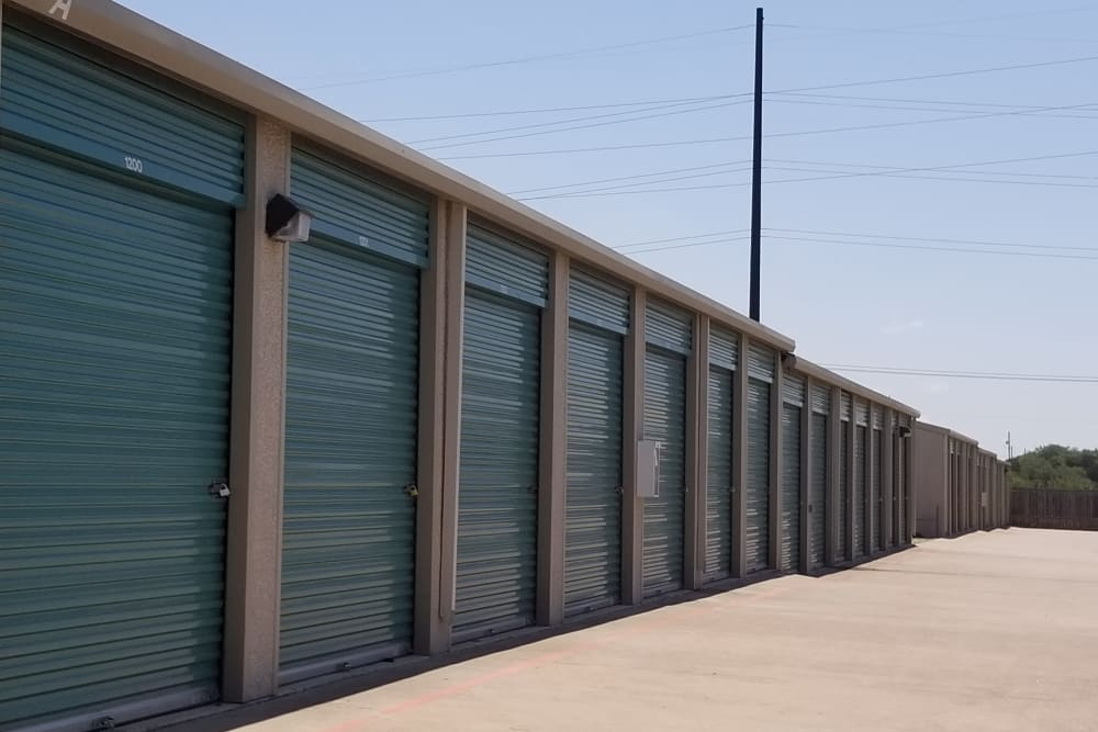 Exterior units at Store It All Self Storage - Lakeway in Lakeway, TX