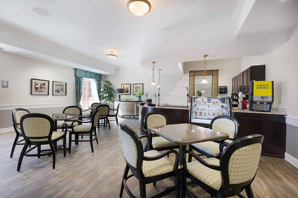 Anson Senior Living offers a dining area in Zionsville, Indiana