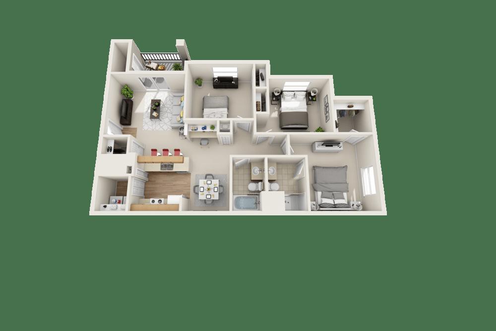 Colorado floor plan at Platte View Landing in Brighton, CO