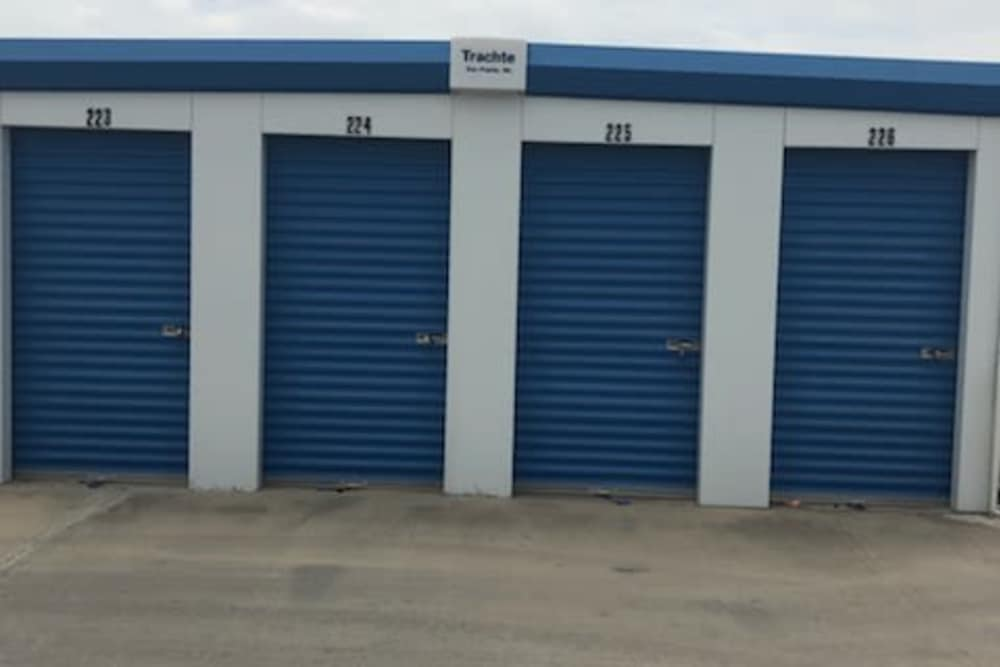 Exterior units at Store It All Self Storage - Loop 20 in Laredo, TX