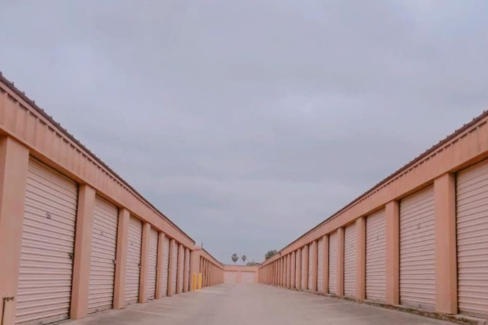 Exterior units at Store It All Self Storage - Townlake in Laredo, TX