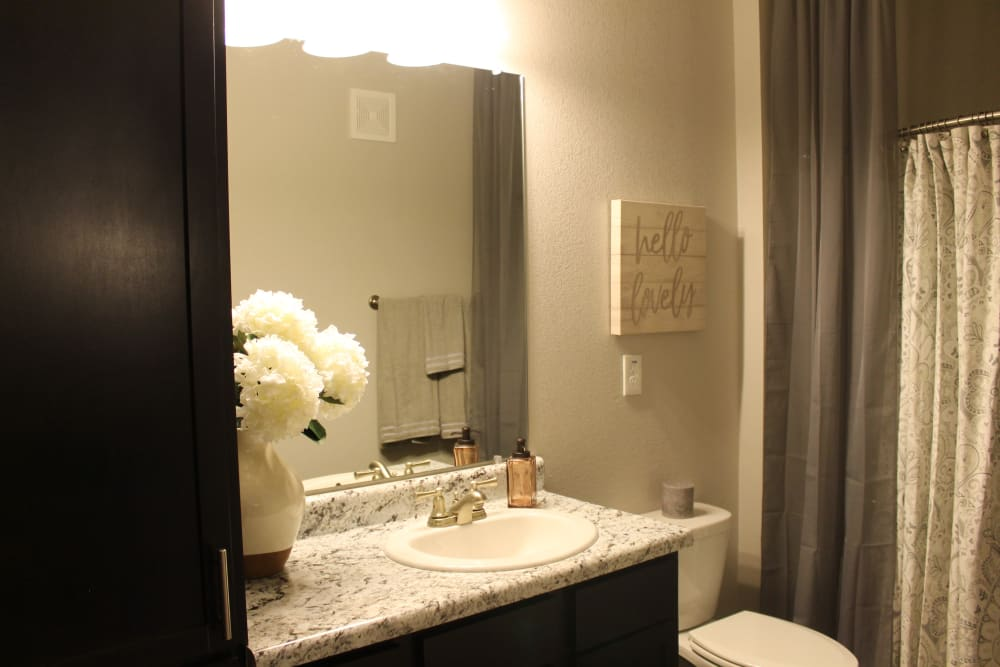 Bathroom at Springs at Sunfield In Buda