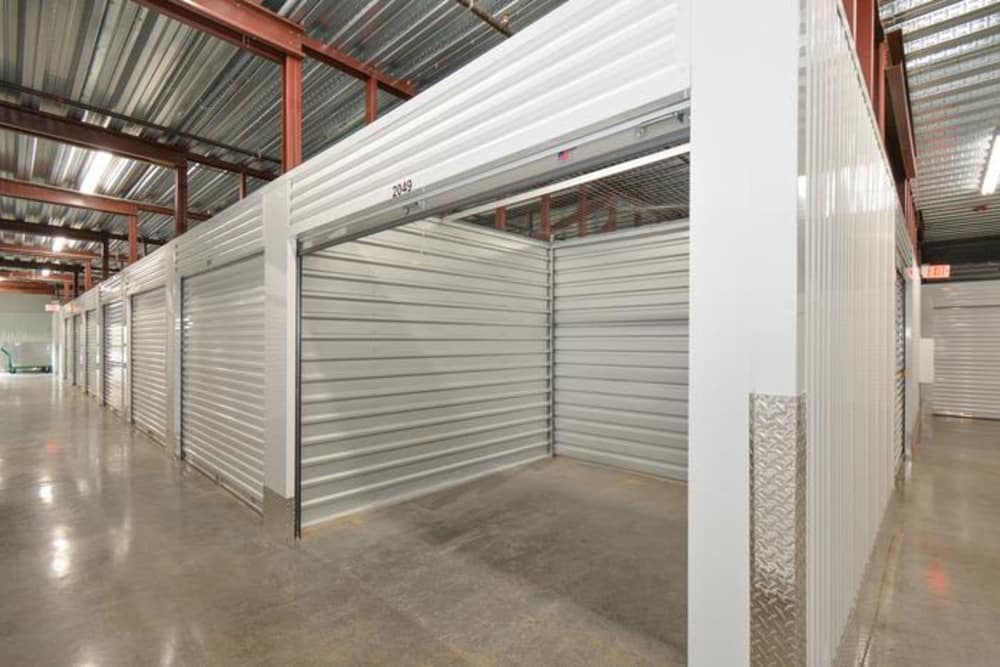 Atlanta, Georgia storage facility interior storage units
