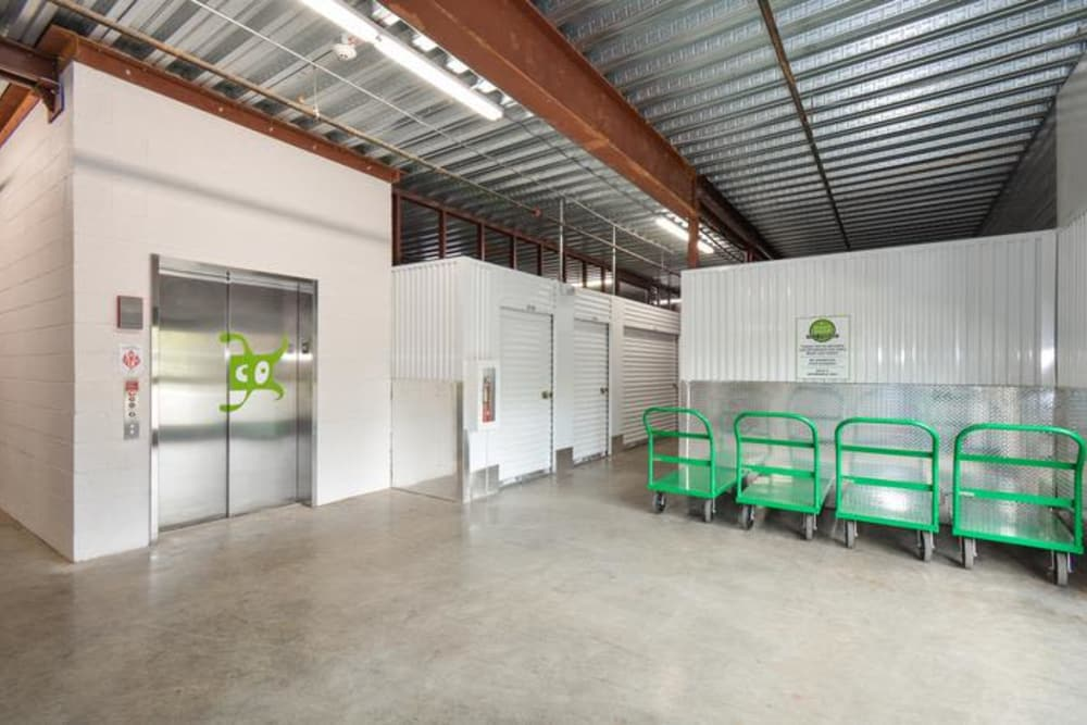 Office space at Space Shop Self Storage in Cary, North Carolina