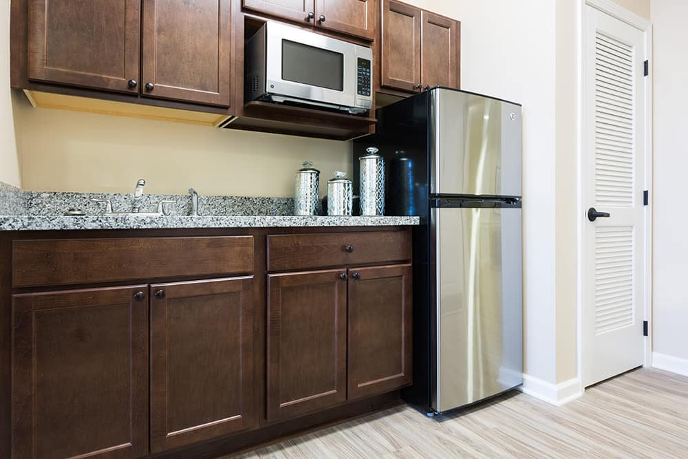 Kitchen at West Chester Assisted Living and Memory Care in West Chester, Ohio