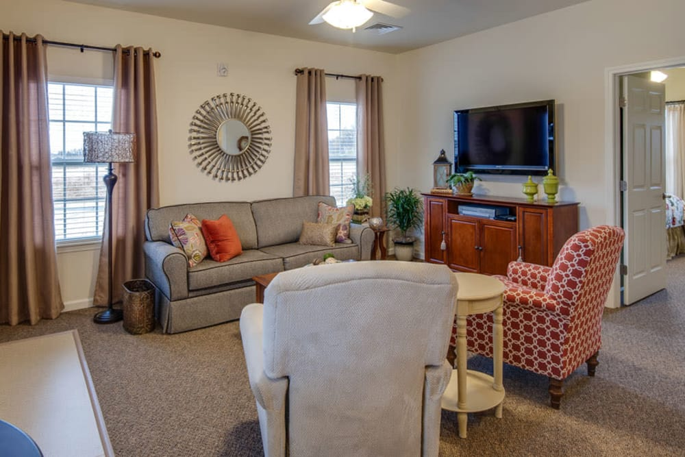 La Bonne Maison Senior Living offers a living space in Sikeston, Missouri