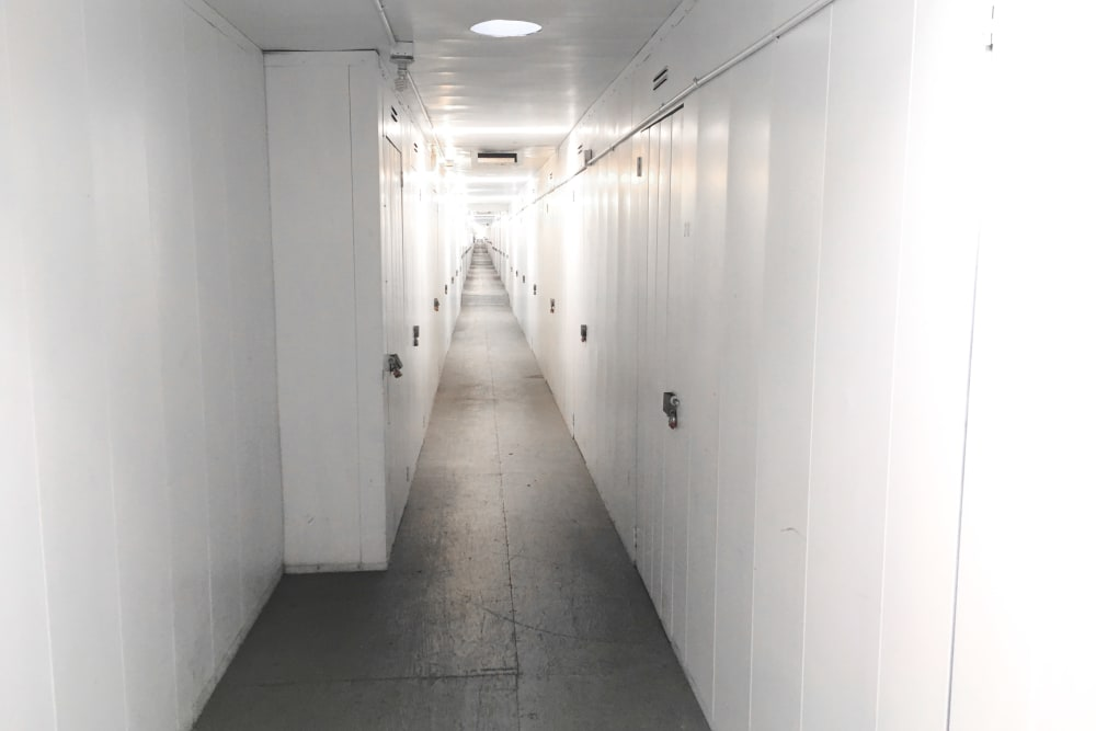 Interior units at StorQuest Self Storage in Canoga Park