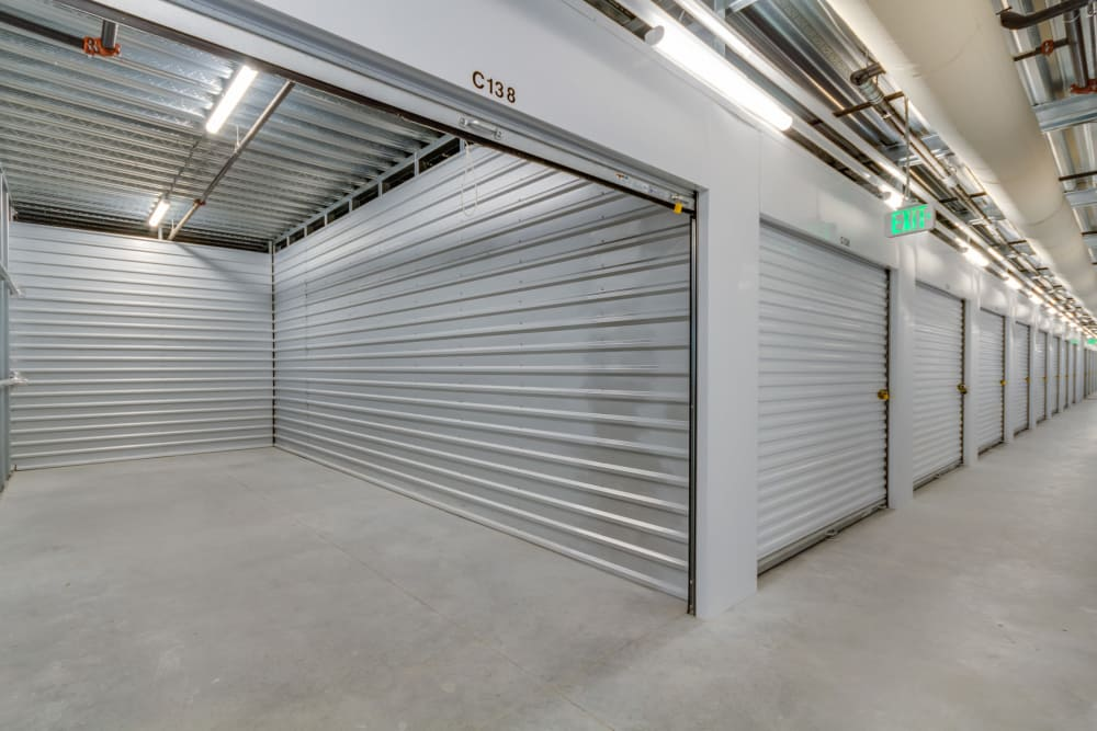 Climate controlled units at Happy Boxes Self Storage in Richmond, Virginia