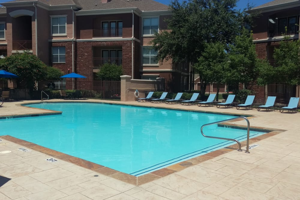 Pool at Alexis at Town East in Mesquite, TX