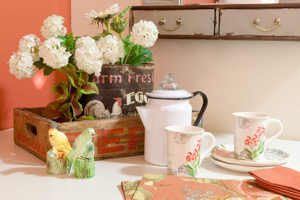 Coffee or tea at Royalton Place