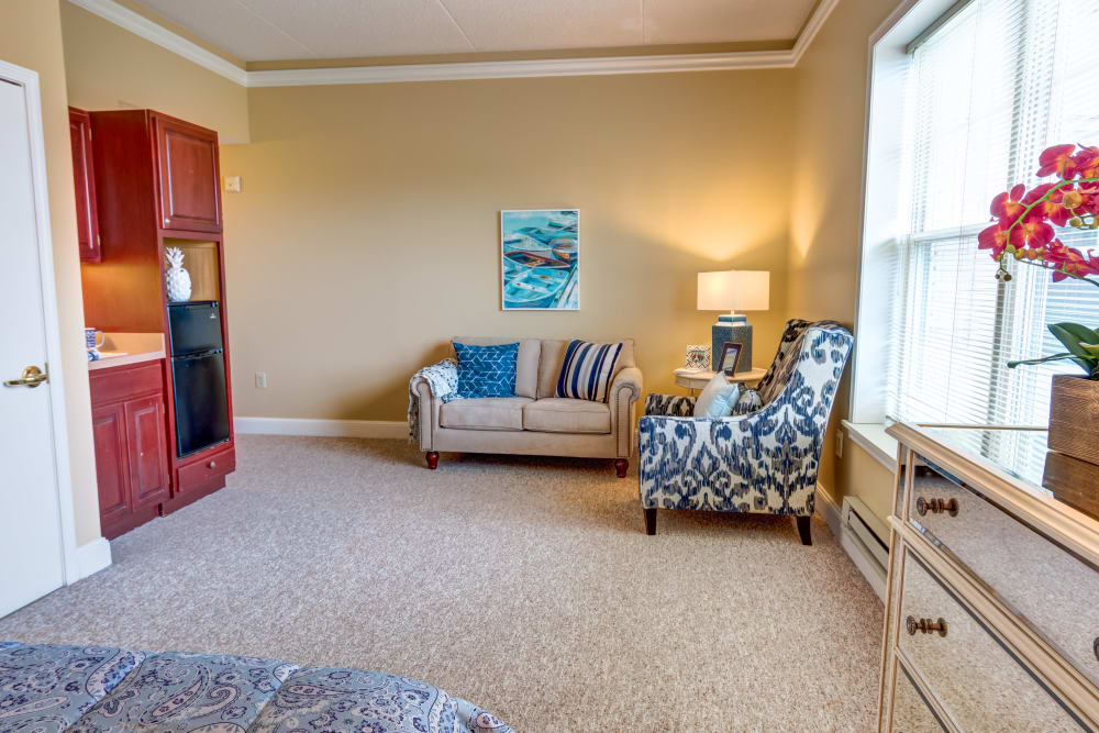 Private apartment at Regent Street Senior Living