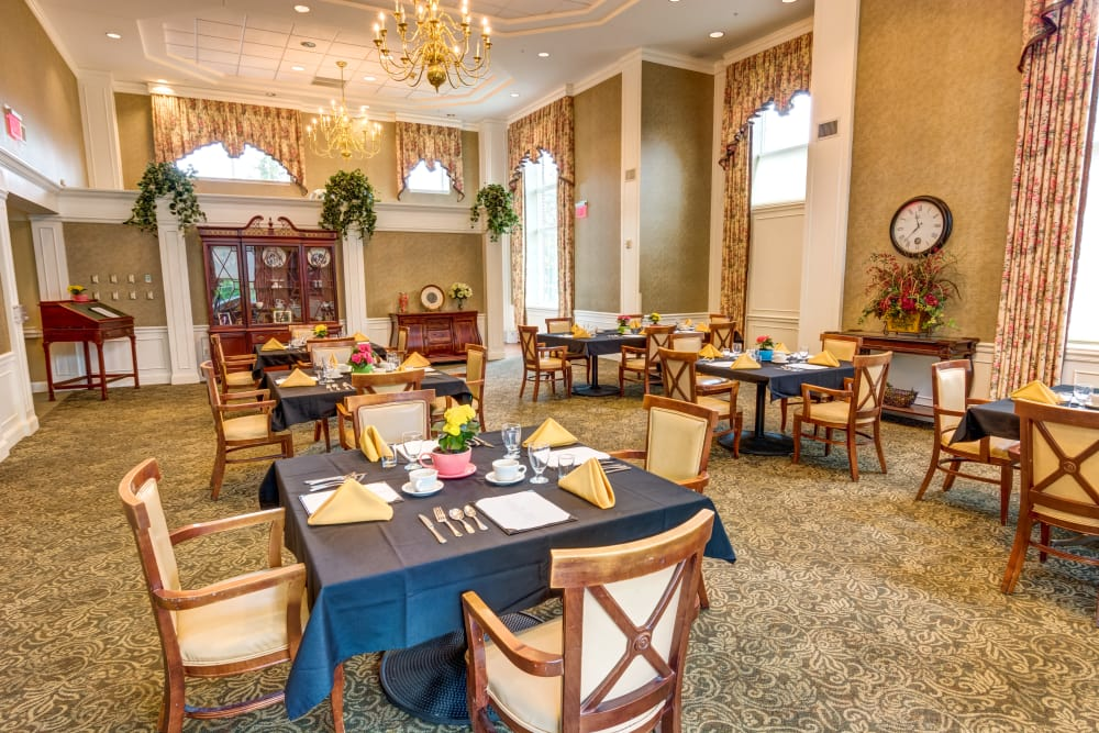 Ask about our exceptional dining program at Regent Street Senior Living