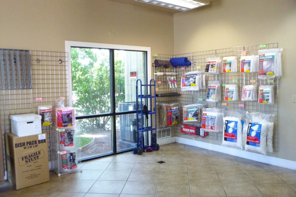 Merchandise at Missouri Flat Storage Depot in Placerville, CA