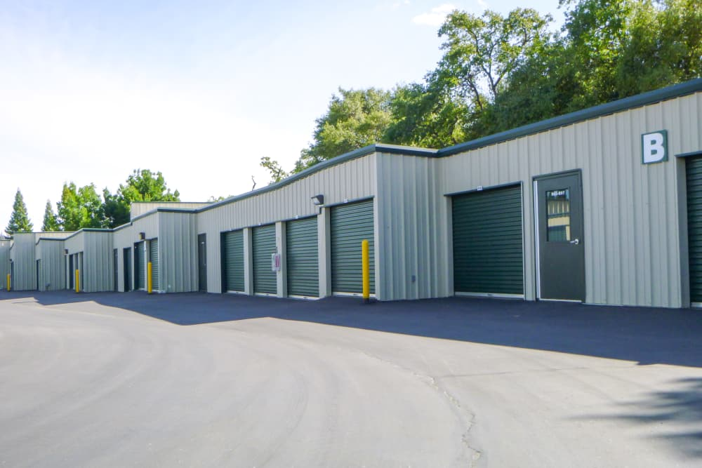 Exterior Units at Missouri Flat Storage Depot in Placerville, CA