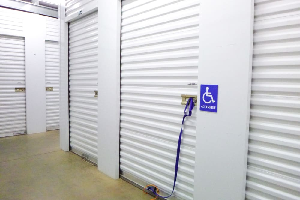 Interior Units at Missouri Flat Storage Depot in Placerville, CA