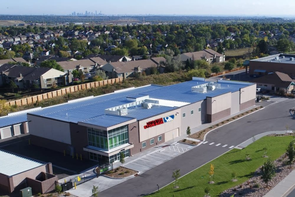 Aerial view of Littleton Storage