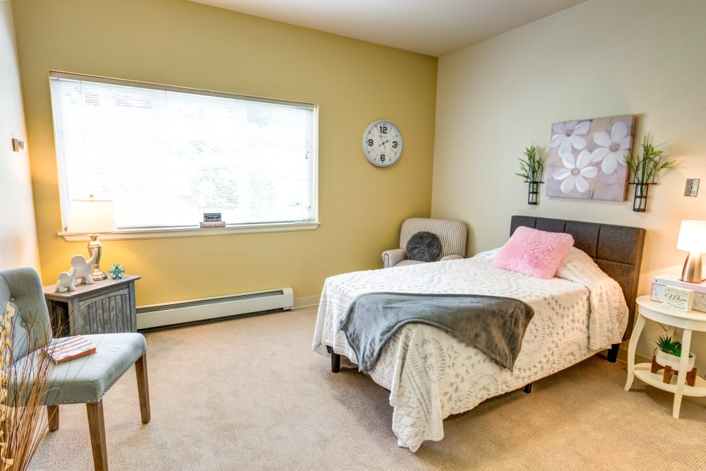 Studio apartment at Harbour Pointe Senior Living