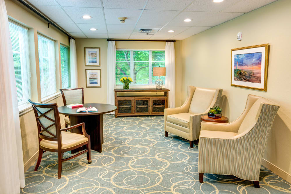 Ask about our customized care plans at Harbour Pointe Senior Living