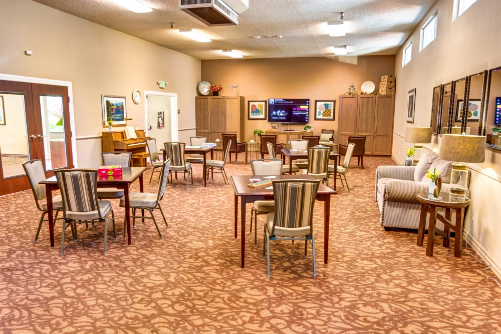 There's plenty to see and do at Sagebrook Senior Living at Bellevue