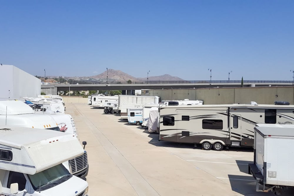 Vehicle at StorQuest Self Storage in Riverside, CA