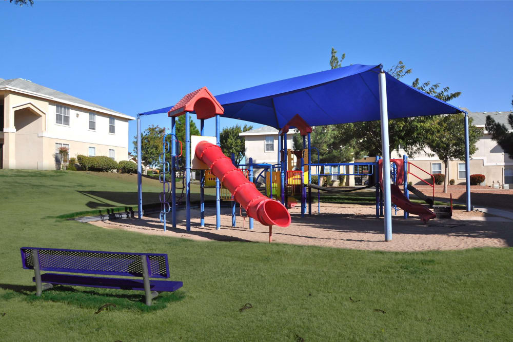 The Patriot Apartments playground in El Paso, Texas