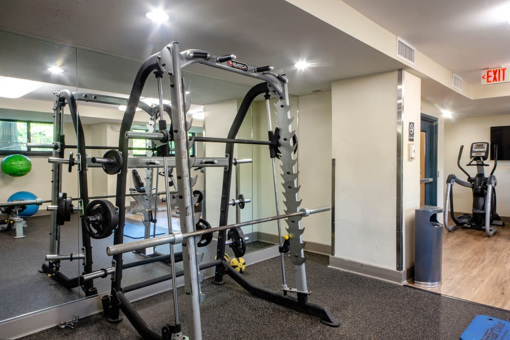 State of the art Gym at The Warwick Apartments