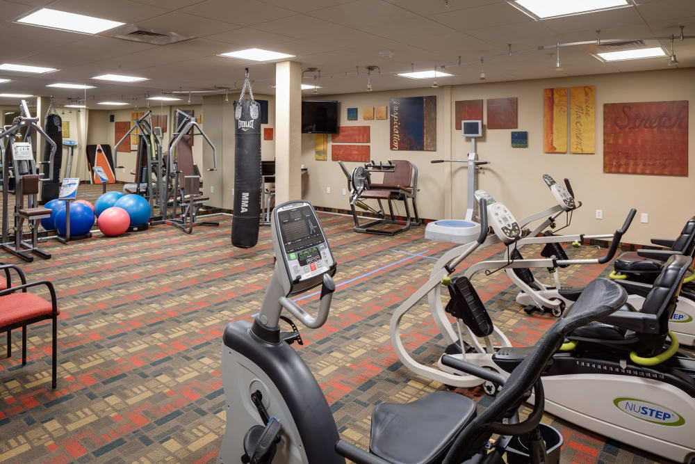 State-of-the-art Fitness center at McDowell Village in Scottsdale, Arizona