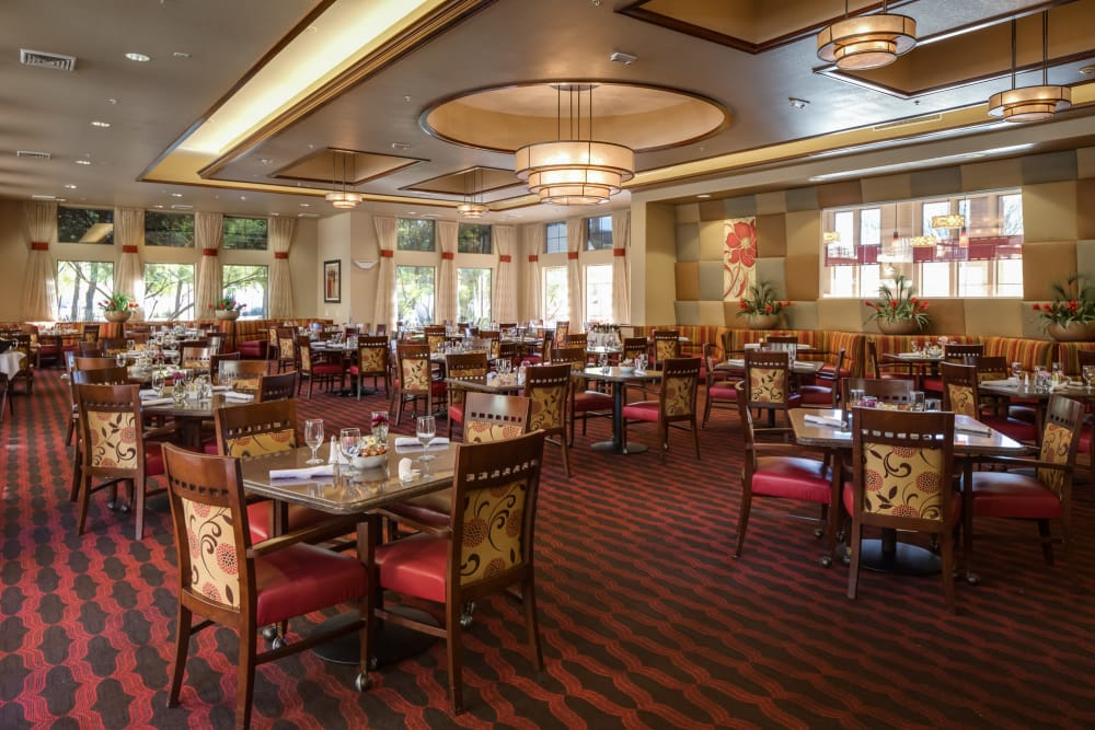 McDowell Village offers a fine dining area in Scottsdale, Arizona