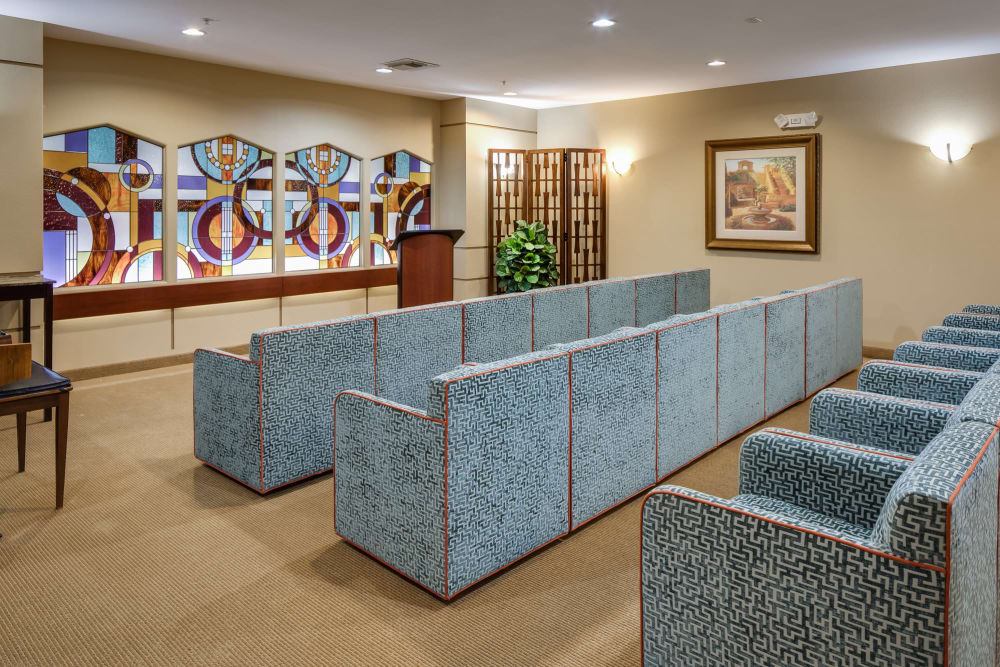 McDowell Village offers a Chapel in Scottsdale, Arizona