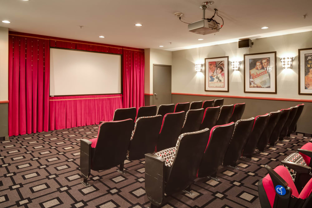 Movie theatre at McDowell Village in Scottsdale, Arizona