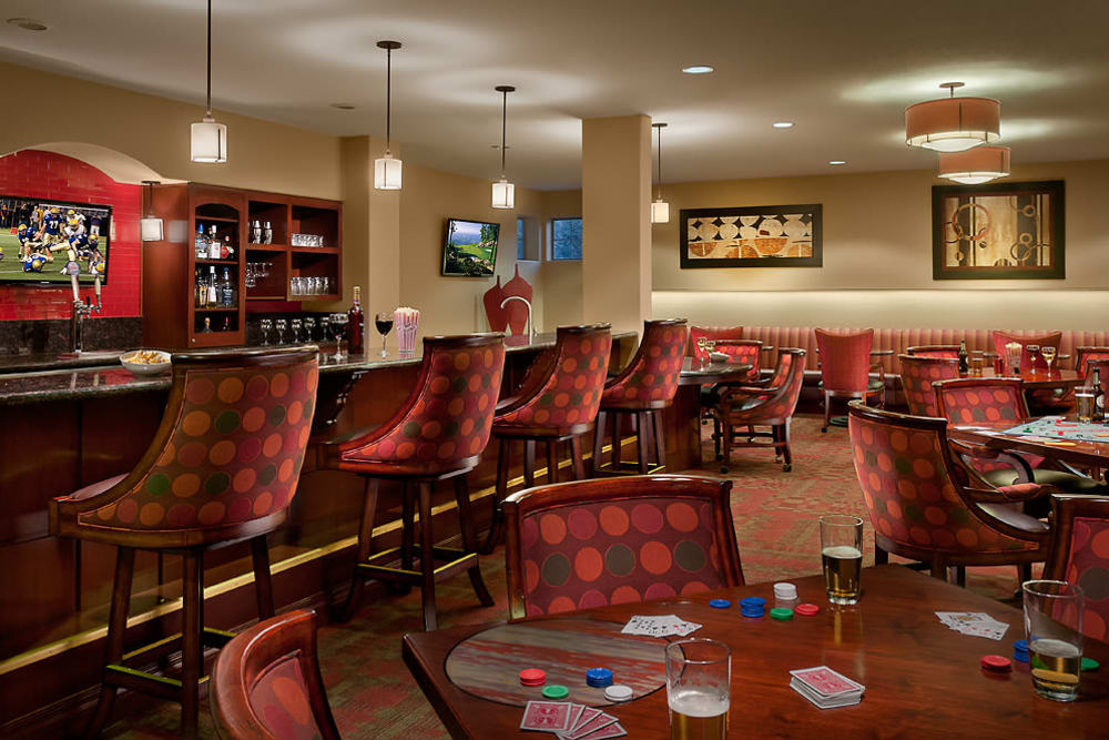 Community Bar at McDowell Village in Scottsdale, Arizona