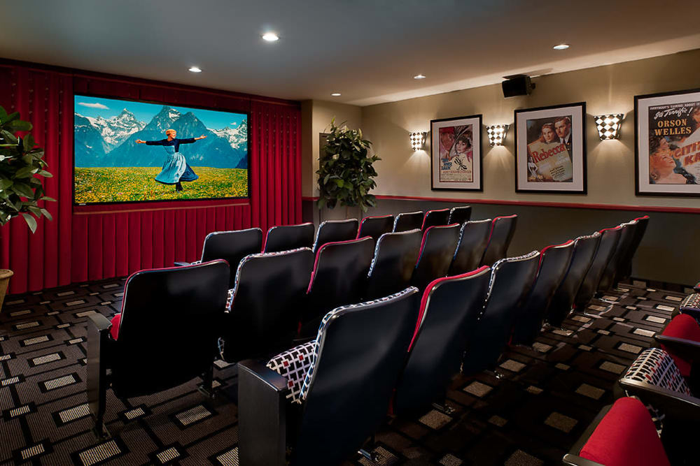 McDowell Village offers a movie theatre in Scottsdale, Arizona