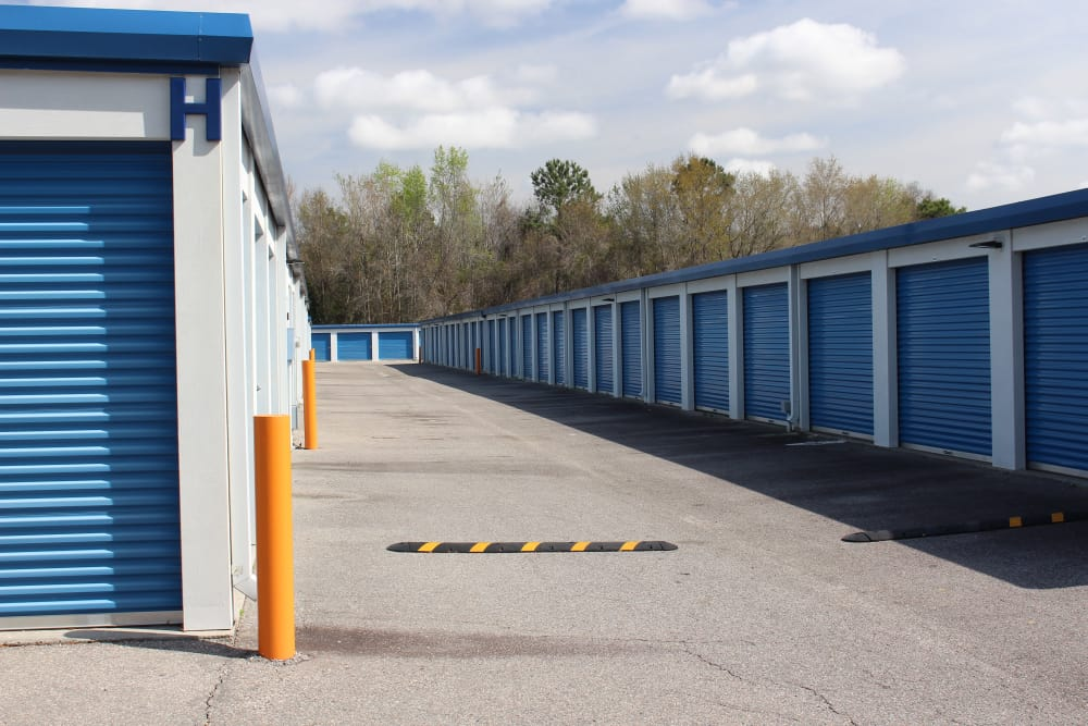 Access to the Storage at Monster Self Storage in Walterboro, South Carolina