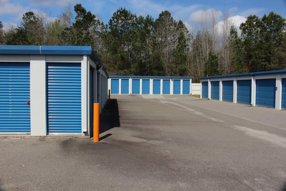 Exterior of Monster Self Storage in Walterboro, South Carolina