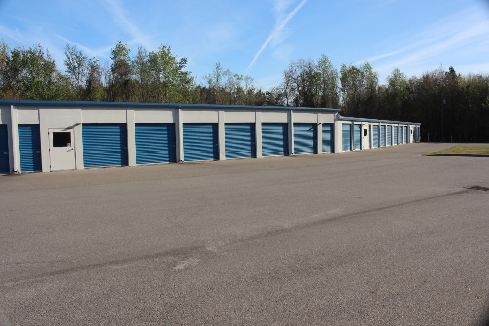outdoor units at Monster Self Storage in Walterboro, South Carolina