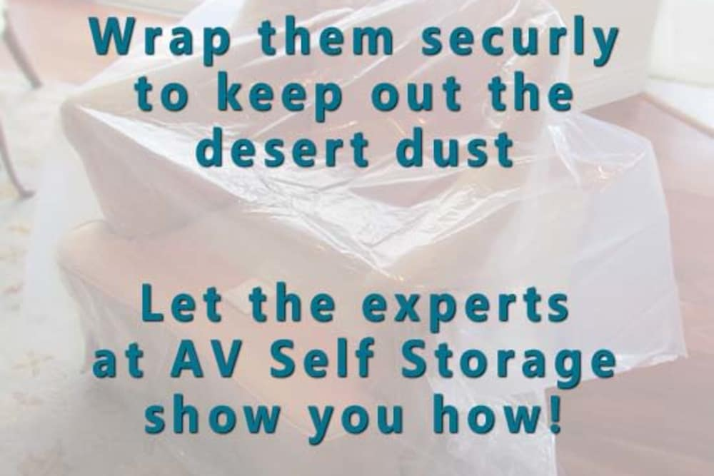 Packing supplies at AV Self Storage in Palmdale, CA
