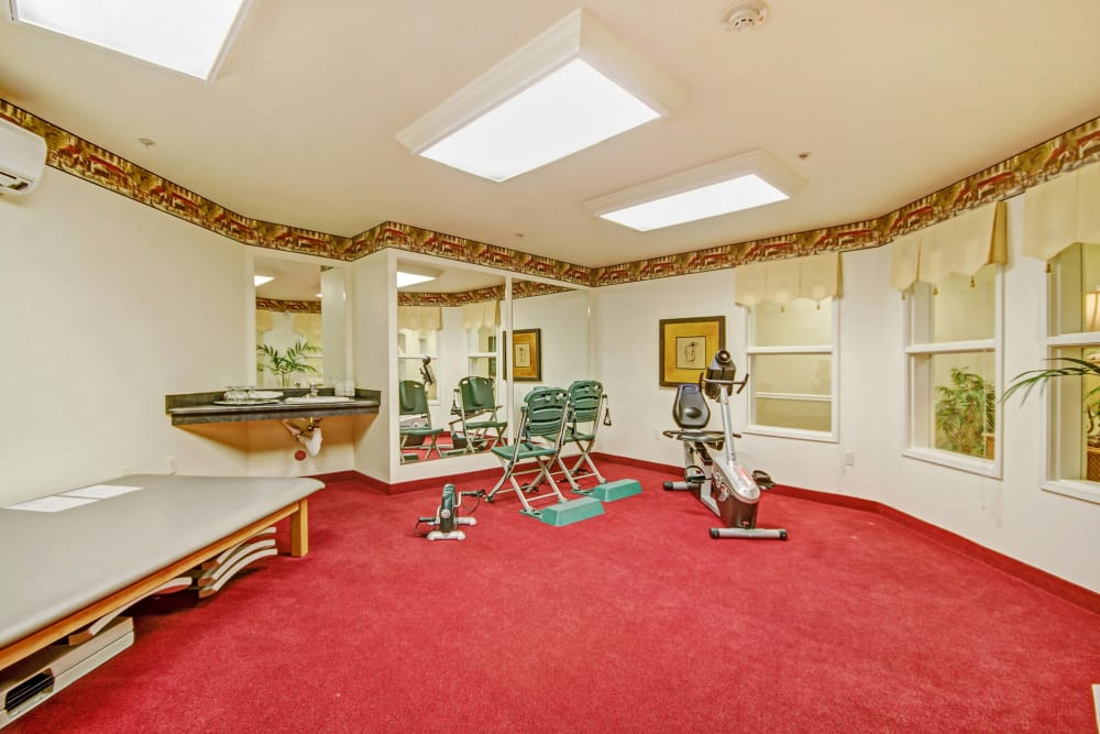 Fitness center for our residents at The Commons at Union Ranch in Manteca, California