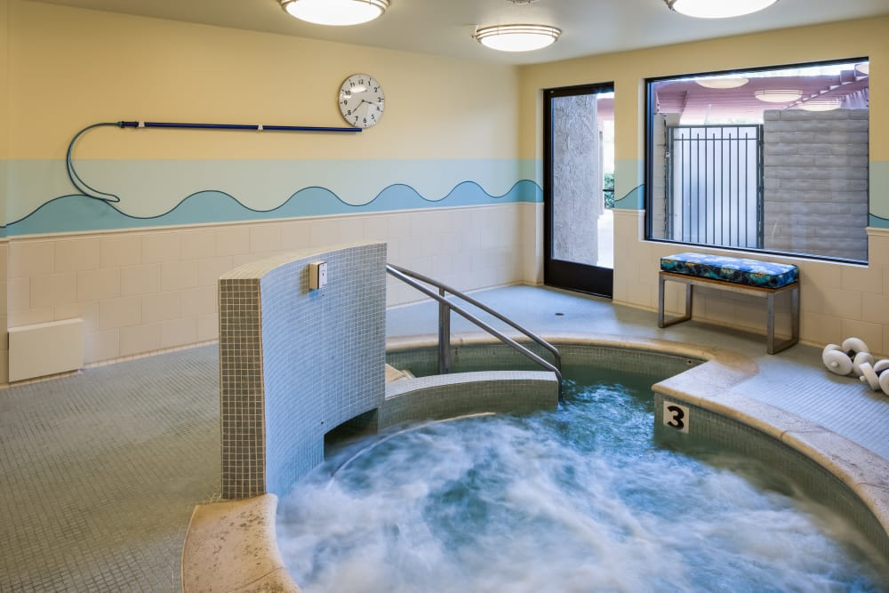 Beautiful jacuzzi at The Reserve at Thousand Oaks in Thousand Oaks, California