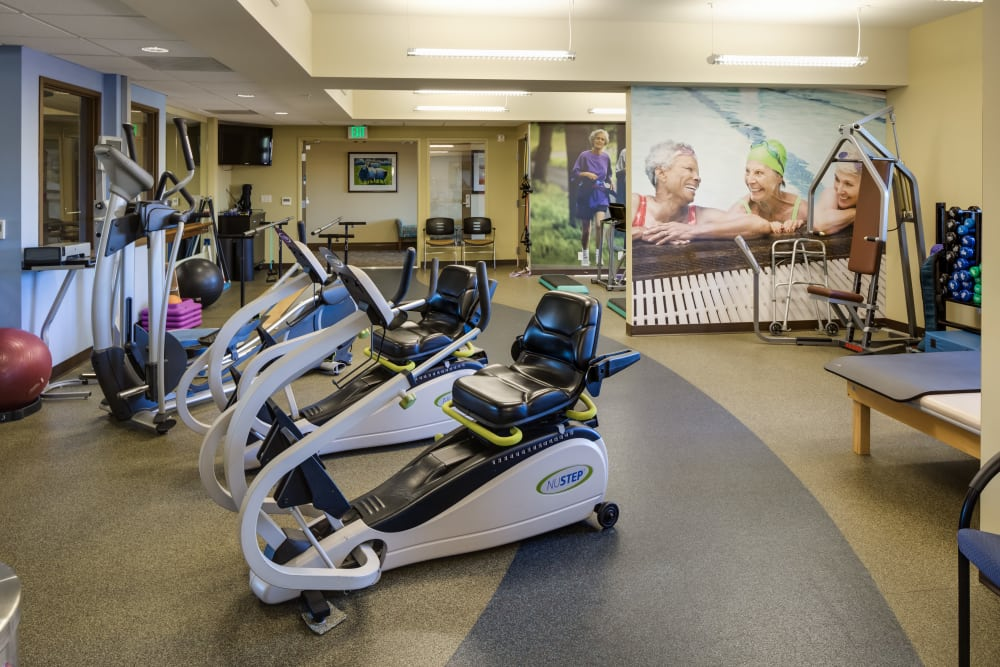Fitness center at The Reserve at Thousand Oaks in Thousand Oaks, California